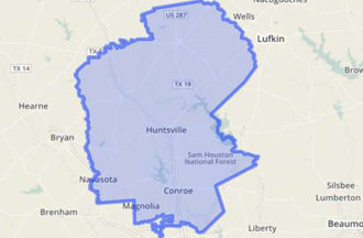 Texas' 8th District Map